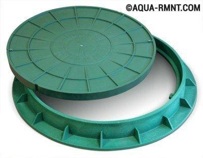 Люк для пластикового канализационного колодца
