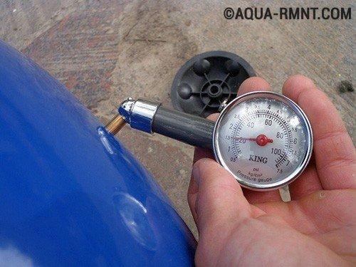 Манометр для измерения давления воды инструкция