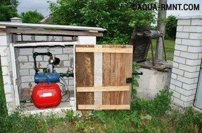Насосная станция для колодца: выбираем место для оборудования