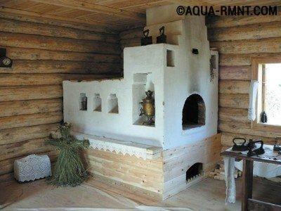Печное отопление: традиционная печка