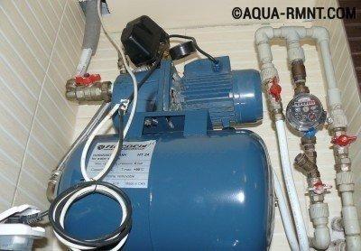 Неисправности водяной станции для дома