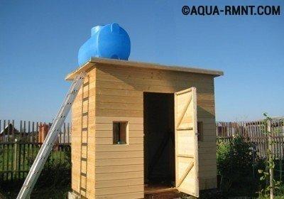 Как сделать летний душ