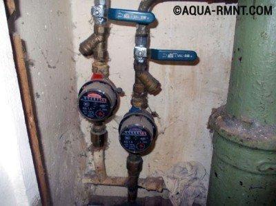 Отключение воды перед установкой смесителя на кухне