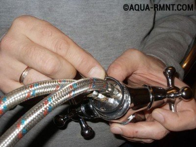 Установка кольцевой прокладки
