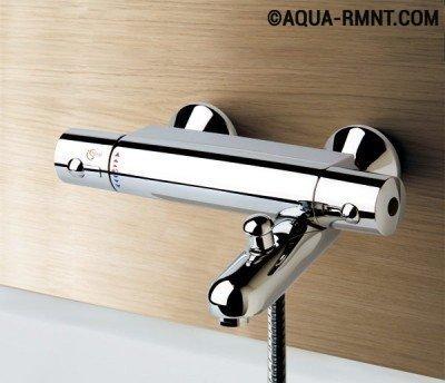 Смеситель термостат для ванной