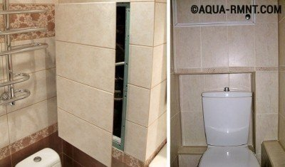 Как сделать короб и спрятать трубы в ванной - пошаговая инструкция
