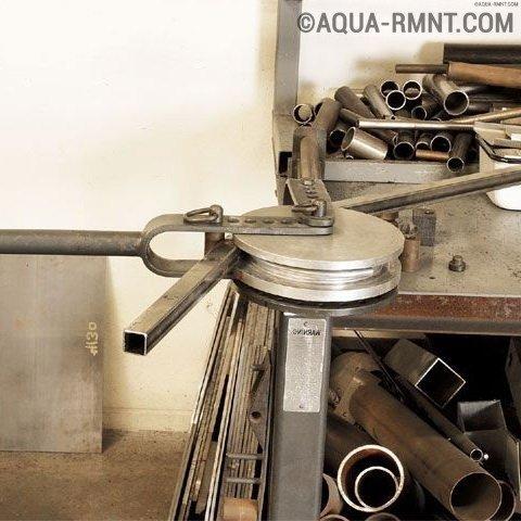 Делаем трубогиб профильной трубы своими руками: лучшие примеры самодельных конструкций