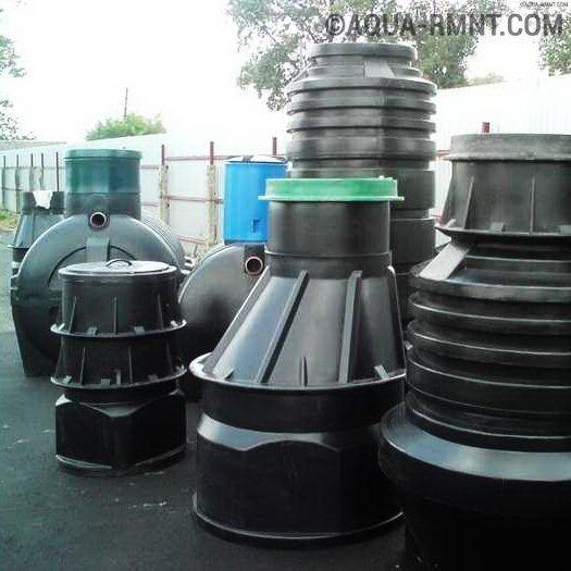 Пластиковые канализационные колодцы: чем лучше бетонных + классификация, устройство и стандарты
