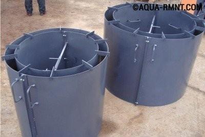 Специальная форма для изготовления жб колец