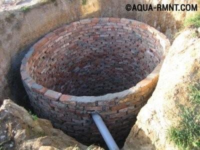 Выгребная яма - простейший вариант канализации для дачи