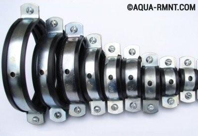 Хомуты для труб разного диаметра