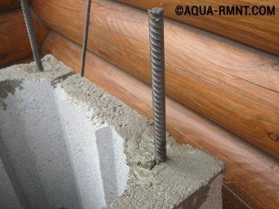Армирование керамического дымохода