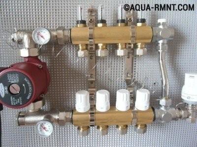 Коллектор для отопления: варианты устройств