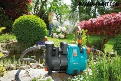 Поверхностный насос подходит для полива сада и огорода