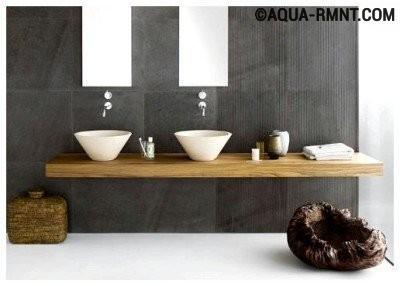 Оригинальный дизайн двойной раковины
