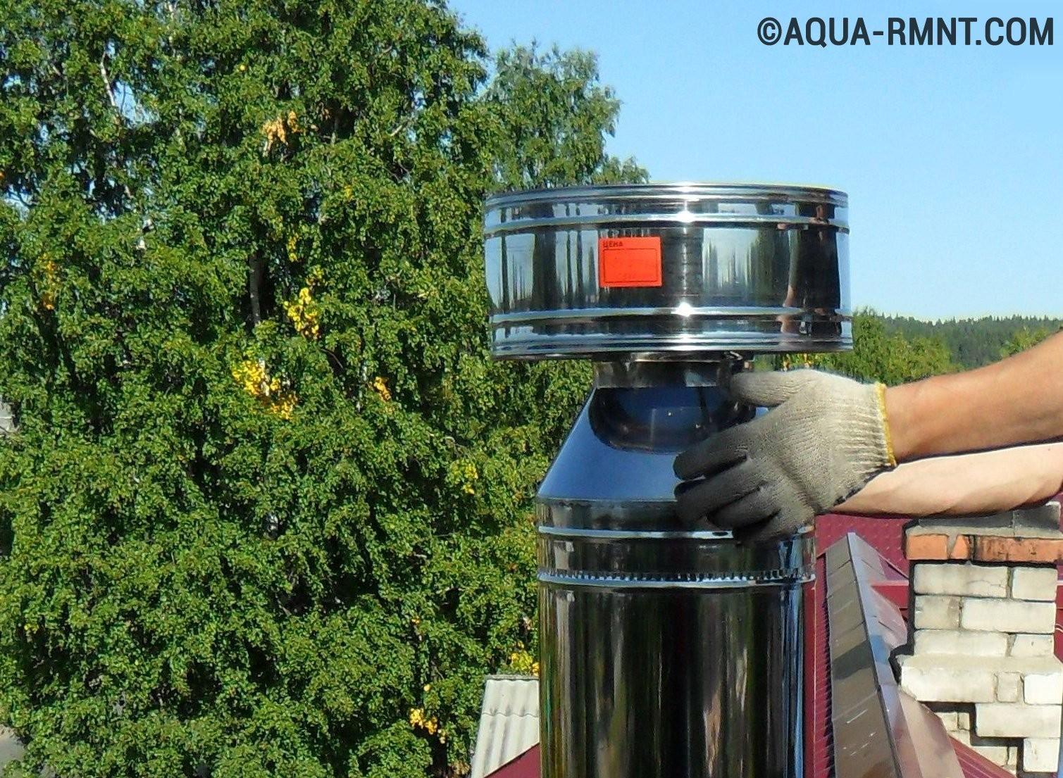 Дефлекторы для газовых котлов своими руками