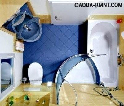 Ванна с приставной душевой кабиной