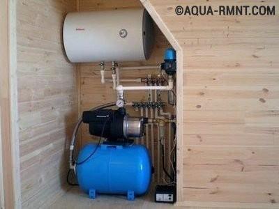 Оборудование для обеспечения водоснабжения частного дома