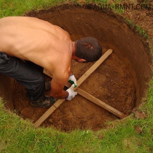 Выкопать колодец на даче своими руками