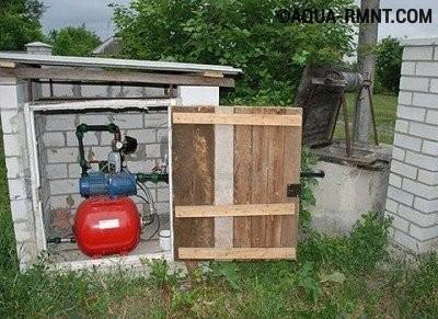 Подсобное помещение для насосного оборудования