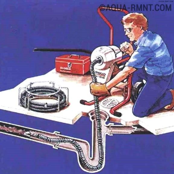 Прочистка канализационных труб: разбор наиболее эффективных методов