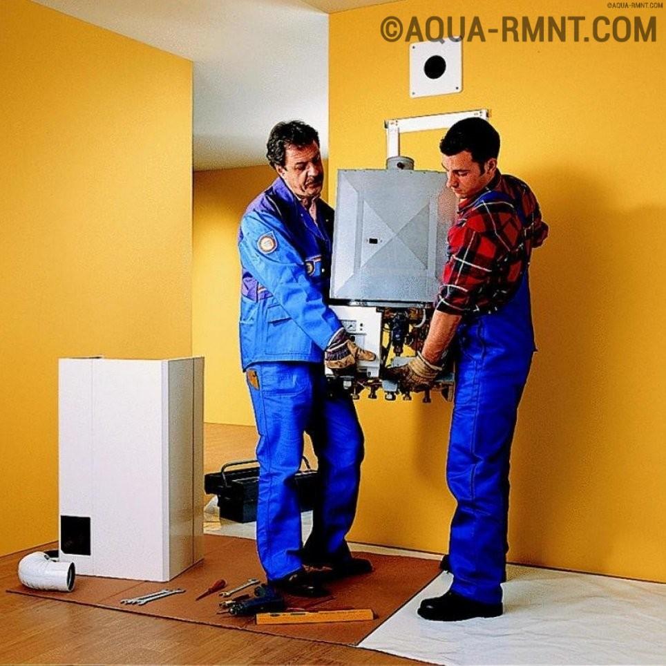 Технология и нормы установки газового котла: настенного и напольного вариантов