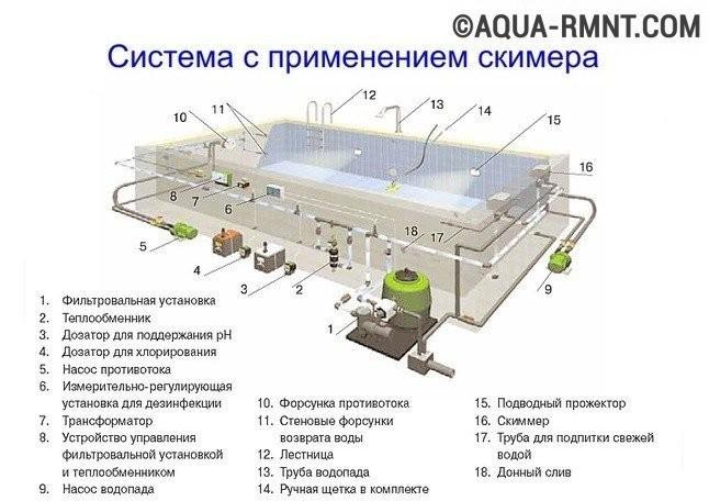 устройства бассейна