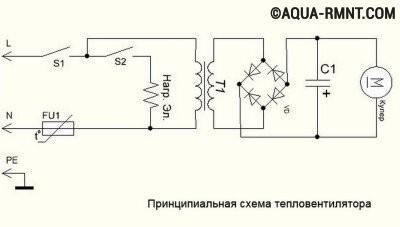 Схема прибора