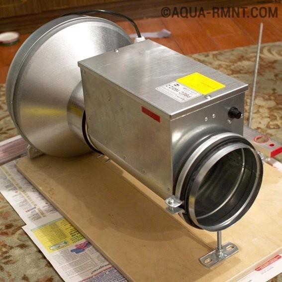 Тепловентилятор своими руками: устройство самодельной тепловой пушки + мини-агрегат