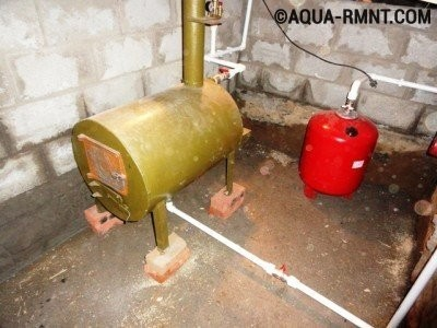 1as drov gaz generator otopl112 400x300 - Электрогенератор на дровах своими руками