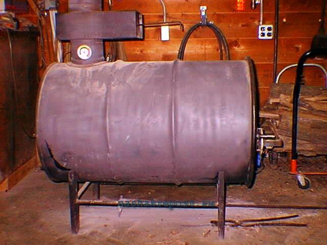 Газогенератор из бочки