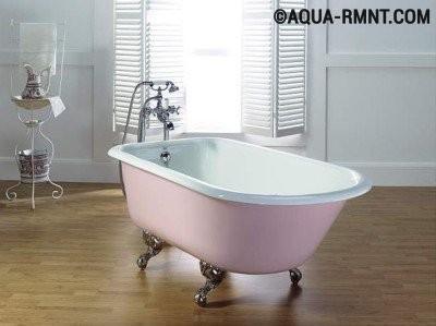 Как обновить старую чугунную ванну: стоит ли это делать