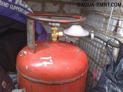 Баллон для газового обогревателя
