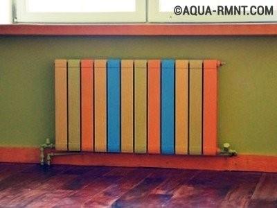 Выбор краски для радиатора отопления