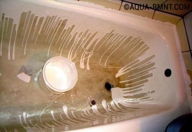 Как и чем покрасить старую ванну в домашних условиях 188