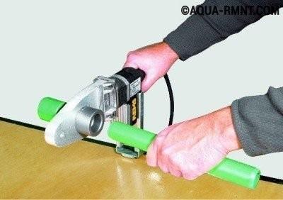 Сантехнические соединения труб: раструбное соединение с помощью сварки