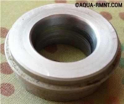 Металлическая болванка для гибки профильных труб