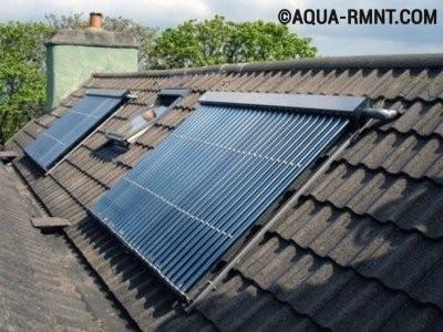 Солнечное отопление частного дома своими руками