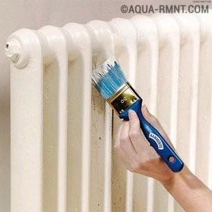 Как правильно выбрать краску и покрасить батарею отопления