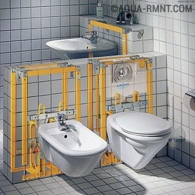 Установка биде и подключение его к канализации: пошаговые монтажные инструкции
