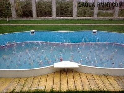 Как подготовить к зиме всесезонный сборно-каркасный бассейн?