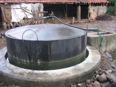 Герметичная емкость биореактора
