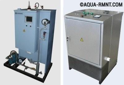 Электрический парогенератор для отопления