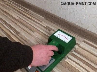 Использование профессионального оборудования при поиске скрытых протечек