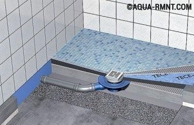 Как правильно установить аварийный слив в полу ванной?
