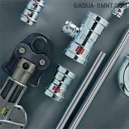 Все про пресс-фитинги для металлопластиковых труб: технические нюансы + монтажные правила
