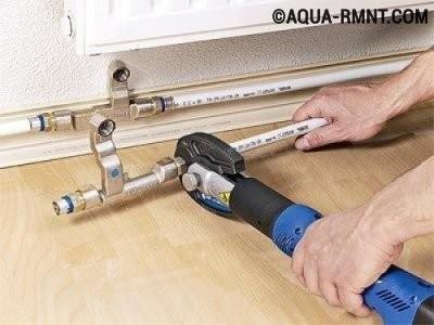 Пресс фитинги для металлопластиковых труб: инструмент для монтажа