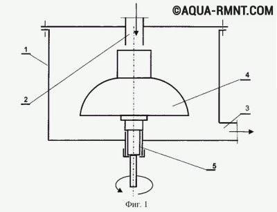 Схема насоса Френетта, разработанного в Хабаровске