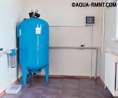 Объем расширительного бака для водоснабжения