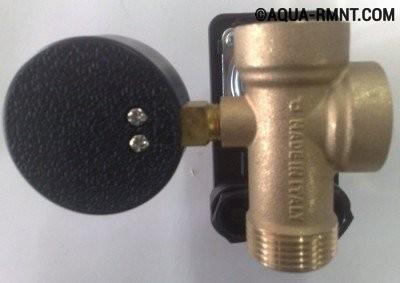 Штулцер для датчика давления воды